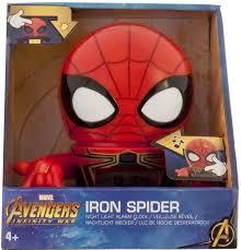 Электронный <b>будильник Marvel</b> 2021692, красный — купить в ...