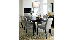 mesmerizing crate barrel dining table crate and barrel dining table inspiring room chairs for your round