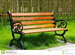 Park Bench Stock Image - Image: 14678841