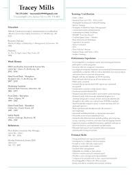 Resume Created By Amanda Wall For An Individual Looking For A Safety