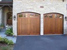 wood garage doors wow look