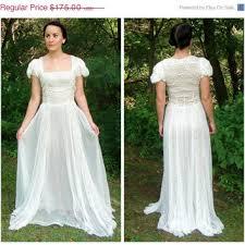 art nouveau wedding dress. 20% off sale antique 1930\u0027s art nouveau sheer off white lace wedding dress. bohemian dress