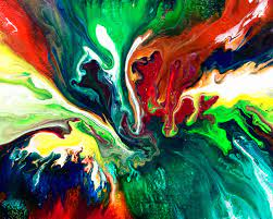Abstract Paint Swirl, HD Abstract, 4k ...