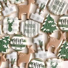 Sugar Cookie Tree Designs Woodsy Winter Onederland