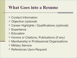 What Goes On A Resume Mesmerizing What Goes On A Resume Great Into 60 Templates With Of Portrayal