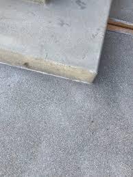 concrete patio is a diffe finish