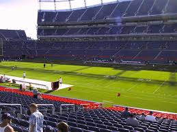 Denver Invesco Field Seating Chart Empower Field At Mile High View From Lower Level 120 Vivid