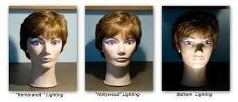 styles of lighting. example of a big contrast in lighting styles t