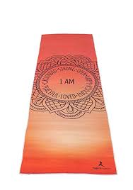 premium quality yoga mat towel by yogaffirmations non slip silicone dots ultra soft