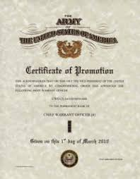 Military Certificate Templates Army Promotions Certificates 43