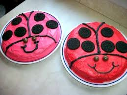 Simple Cake Decorating Designs Lady Bug Cake Simple Cake Decorating Idea A Thrifty Mom 35