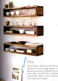 it followed me home floating timber shelves living dining room box nz