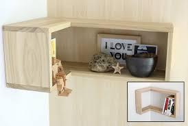 Building Corner Shelves DIY Floating Corner Shelves Shanty 100 Chic Within Shelf Idea 91