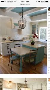 Backsplash Lighting Inspiration Drop Down Island For Eating Space I Also Like The Backsplash And