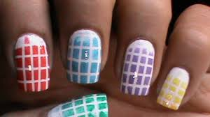 Checkered Ombre - Nail art designs _ superwowstyle Prachi - Video ...