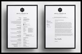 Resume Cv Brice By Bilmaw Creative On Creativemarket Resumee