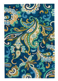 jaipur living barcelona i o calico ba23 blue area rug
