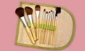 10 piece beaute basics eco friendly makeup brush set groupon