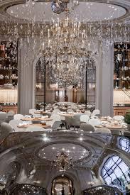 chandelier hotel plaza athenee restaurant