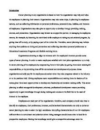 career planning essay co career planning essay