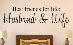 Amazon Best Friends For Life Husband And Wife Quote Wall Decal Impressive Best Husband And Wife
