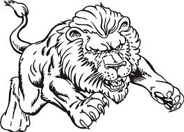 Small Picture Lion Color Page Lion Face Coloring Page nebulosabarcom