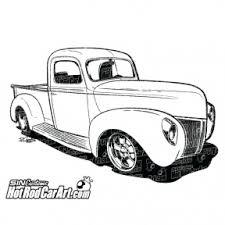 1959 FORD PICKUP TRUCK CLIPART - 28px Image #19