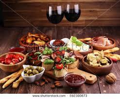 Resultado de imagen de buffet antipasti italiano
