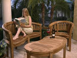 chic teak furniture for active life styles chic teak furniture