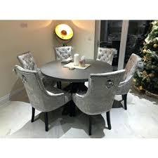 pretty inspiration gray velvet dining chairs as for glamorous home trend hafoti org