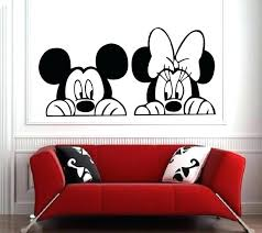 mickey mouse wall art nz