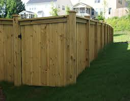 wood privacy fences. 105 Wood Post Fence - Big Jerry\u0027s Fencing NC FL Privacy Fences
