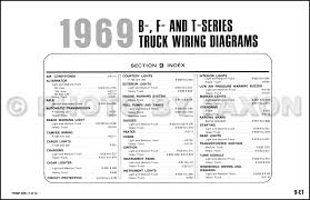 1969 ford truck wiring diagram original f100 f250 f350 f1000 item specifications