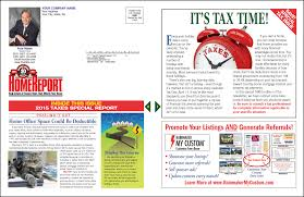 News Letters Rainmaker Lead System Print Newsletter Home Report