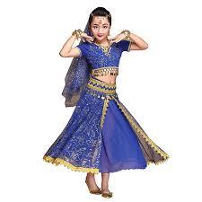 Belly Dance Costume Bollywood Dress - Chiffon ... - Amazon.com