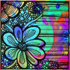 Pin by Melissa Swartley on ❡Life In Color❡ | Tangle art, Art journal, Art  journal pages