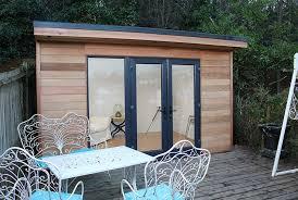 prefabricated garden office. Prefabricated Cedar Garden Room Office