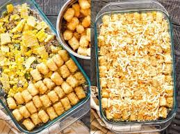 I made this with leftover ham and veges from thanksgiving dinner. Leftover Pulled Pork Tater Tot Casserole Recipe Our Zesty Life