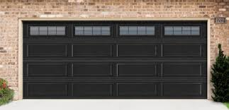 black garage doorsFantastic Black Garage Doors On Modern Home Design Ideas P84 with