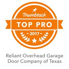 Reliant Overhead Garage Doors & Openers by Trusted Pros
