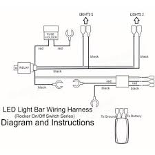 illuminated toggle switch wiring diagram schematic diagram led wiring harness inch w curved led light bar wiring mount brackets spst switch wiring diagram