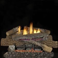 18 fireplace logs