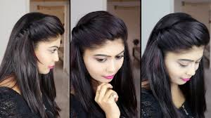 how to make side puff hairstyle 1 minute side puff hairstyle rinkal soni