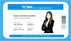 Nurse Id Badge 1 Word Card Templates Free Template Archive