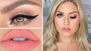 conner miaconnor high end vs makeup full face dupes makeup tutorial metdaan