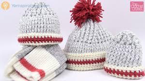 crochet sock hats all sizes tutorial