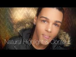easy quick men s natural fall makeup tutorial highlight contour lets learn makeup