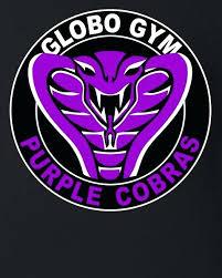 globo gym purple cobras baby bodysuit costume globo gym
