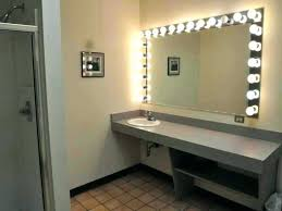 medium size of wall mounted magnifying mirror with light bathroom mirrors the home depot regard to