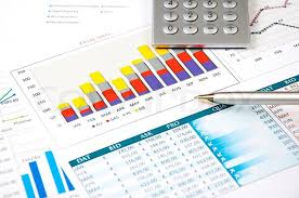 Business Charts And Graphs Finance Charts And Graphs Finance Stock Image Colourbox